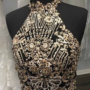 Prom social occasion dress